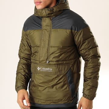 Columbia - Veste Outdoor Lodge 1864422 Vert Kaki Bleu Marine