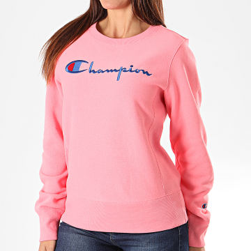 Champion - Sweat Crewneck Femme 112188 Rose