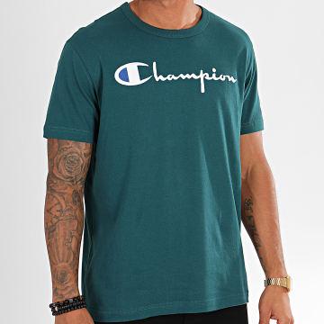 Tee Shirt Big Script 210972 Vert