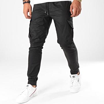 Pantalon Cargo 23676 Noir