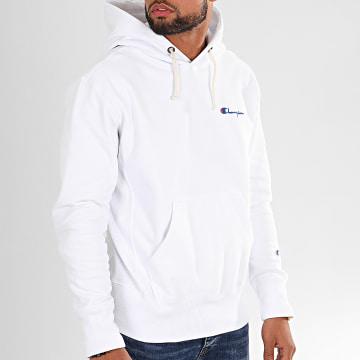 Sweat Capuche 231735 Blanc