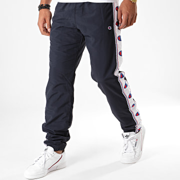 Pantalon Jogging A Bandes 214047 Noir
