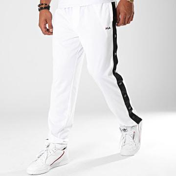 Pantalon Jogging A Bandes Maolin 682354 Blanc