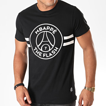 Tee Shirt Flash Mbappé Noir