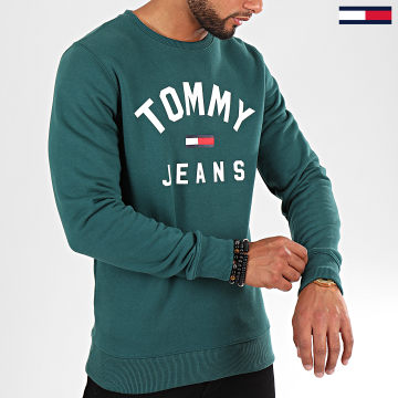 Sweat Crewneck Essential Flag 7024 Vert Sapin