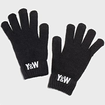 Y et W - Gants Noirs