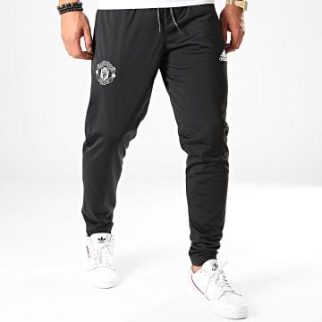 Pantalon Jogging Manchester United Icons DX9069 Noir Argenté