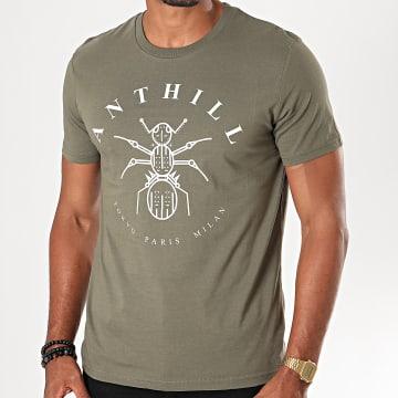 Tee Shirt Logo Vert Kaki