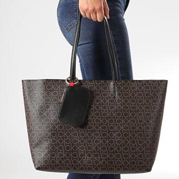 Calvin Klein - Sac A Main Med Shopper 5867 Marron