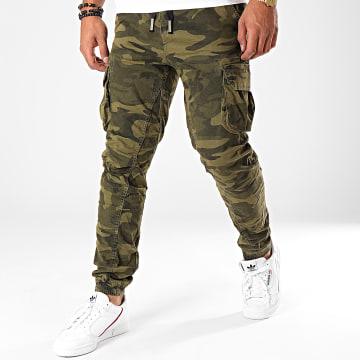 Jogger Pant Camouflage H6404 Vert Kaki