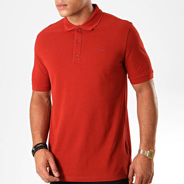 HUGO by Hugo Boss -  Polo Manches Courtes Reverse Logo Donos 193 50409699 Rouge