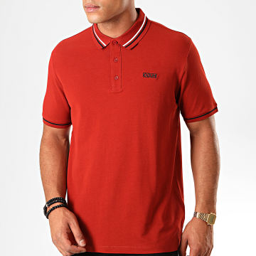 HUGO by Hugo Boss - Polo Manches Courtes Reverse Logo Daruso 50414224 Rouge