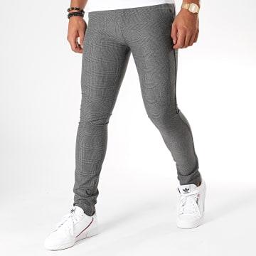 MTX - Pantalon Carreaux DJ501 Gris Noir