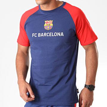 Tee Shirt De Sport Player Messi FC Barcelona B19005 Bleu Marine