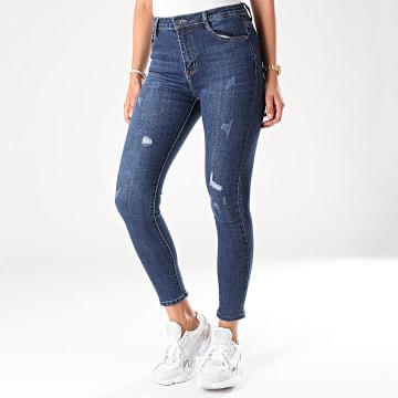 Jean Skinny Femme 105 Bleu Denim