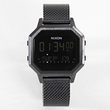 Nixon - Montre Femme Siren Milanese A1272-001 All Black