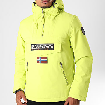Veste Outdoor Rainforest Pocket N0YGNL Jaune