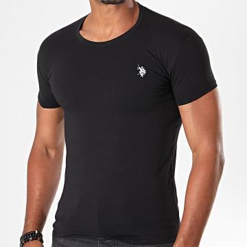 Tee Shirt Basic USPA Noir