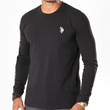 Tee Shirt Manches Longues USPA Flag Noir