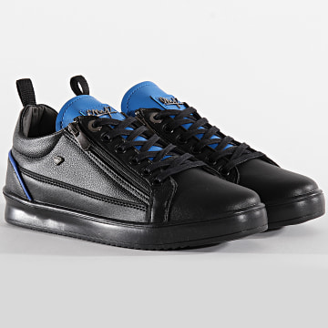 Baskets CMS97 Stock Maximus Black Bleu Roi