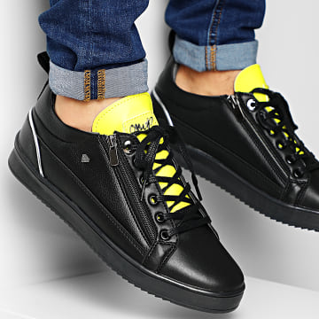 Baskets CMS97 Stock Maximus Black Yellow