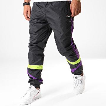 Fila - Pantalon Jogging A Bandes Reign Noir