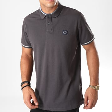 Pepe Jeans - Polo Manches Courtes Terence 541304 Gris Anthracite