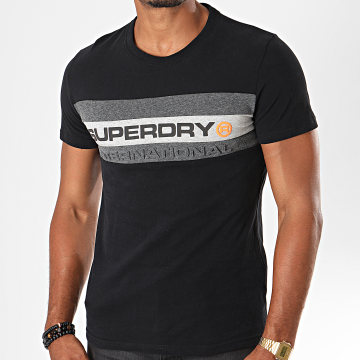 Tee Shirt Trophy M1000052B Noir Gris Chiné