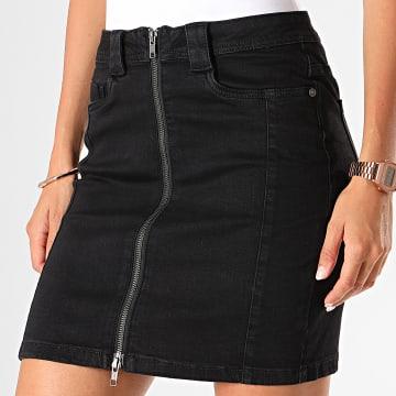 Jupe Jean Femme Be Lucy Noir