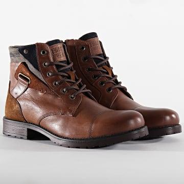 Redskins - Boots Epine YO24102 Brandy Marine