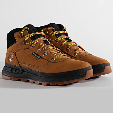 Boots Field Trekker Low Hiker A1ZQH Wheat Nubuck