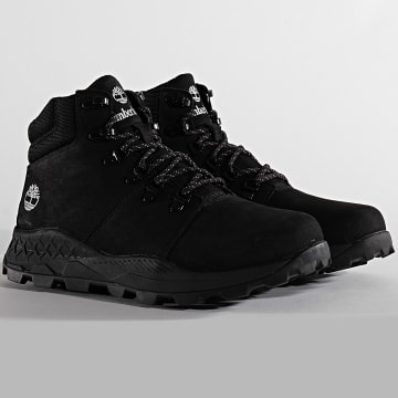 Timberland - Boots Brooklyn Low Hiker A27PQ Black Nubuck