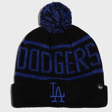 '47 Brand - Bonnet Calgary Cuff Knit Los Angeles Dodgers Noir Bleu Roi