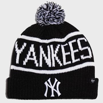 Bonnet Calgary Cuff Knit New York Yankees Noir