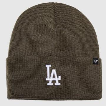 Bonnet MVP Los Angeles Dodgers Vert Kaki