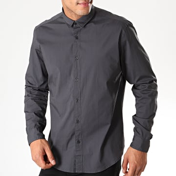 Chemise Manches Longues 089EE2F001 Gris Anthracite