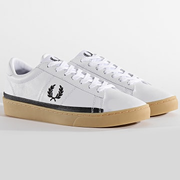 Fred Perry - Baskets Spencer Leather B7110 White