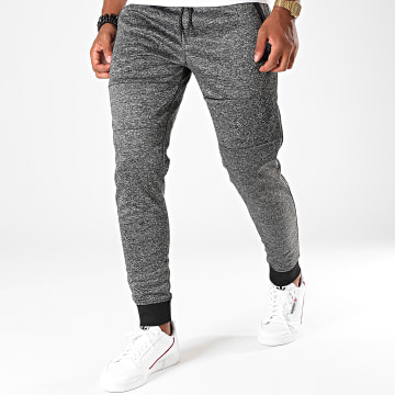 South Pole - Pantalon Jogging SP1552 Gris Anthracite Chiné