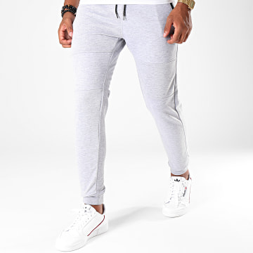 South Pole - Pantalon Jogging SP1594 Gris Chiné