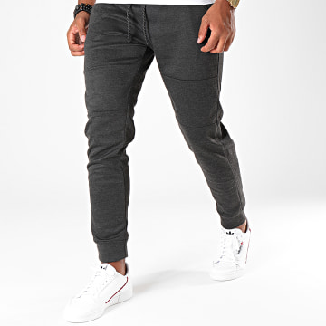 South Pole - Pantalon Jogging SP1594 Gris Anthracite Chiné