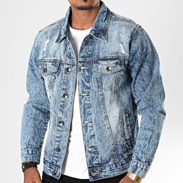 South Pole - Veste En Jean SP5154 Bleu Denim