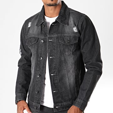 South Pole - Veste En Jean SP5154 Noir