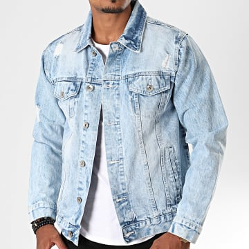 South Pole - Veste En Jean SP5154 Bleu Wash
