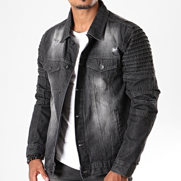 South Pole - Veste En Jean SP5158 Noir