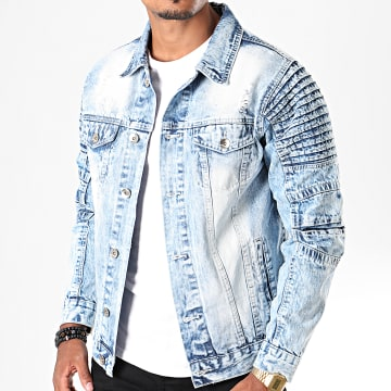 South Pole - Veste En Jean SP5158 Bleu Wash