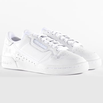 Adidas Originals - Baskets Femme Continental 80 EH2621 Footwear White Cryogenic White Core Black
