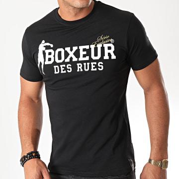 Boxeur Des Rues - Tee Shirt Slim 02ESY Noir