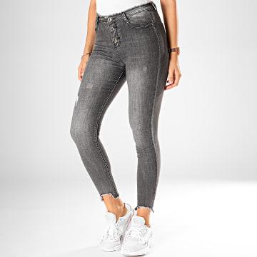 Jean Skinny Femme DZ61 Gris