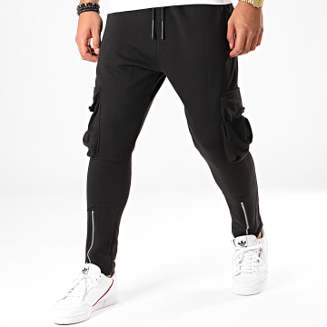 Ikao - Pantalon Jogging F662 Noir
