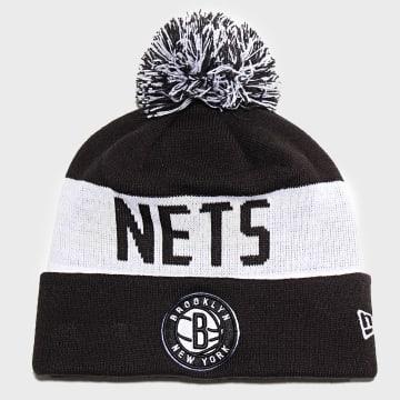 Bonnet Team Tonal Knit 12040203 Brooklyn Nets Noir